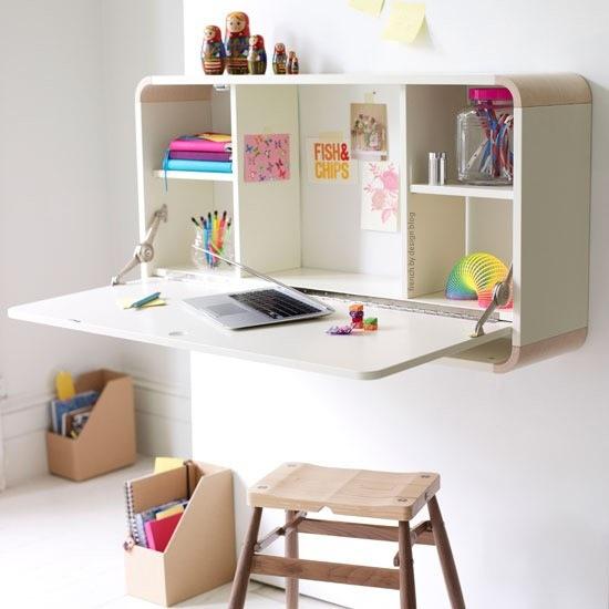 coin devoir et espace de travail pour un petit espace