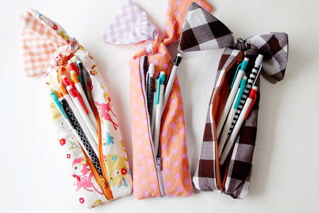 DIY coffre à crayon et fourniture scolaire