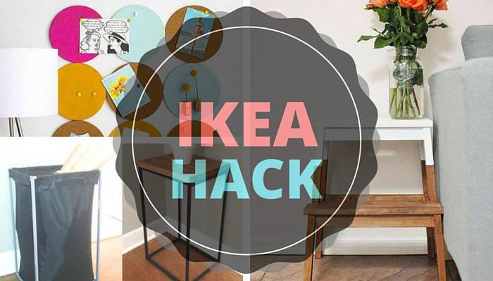 Ikea Hacks à faire à la maison avec les meubles achetés chez IKEA