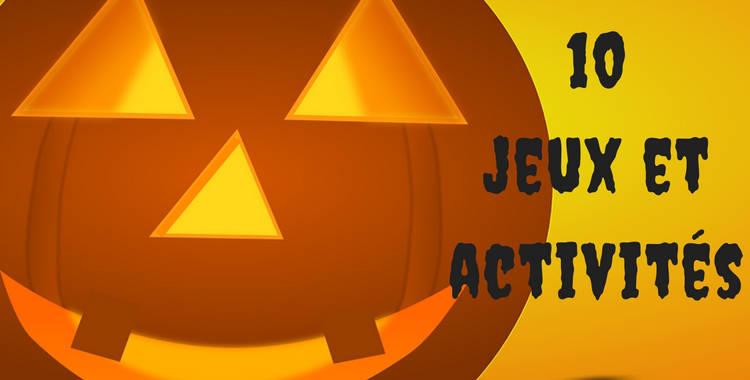 Jeux et activités pour les enfants à l'Halloween