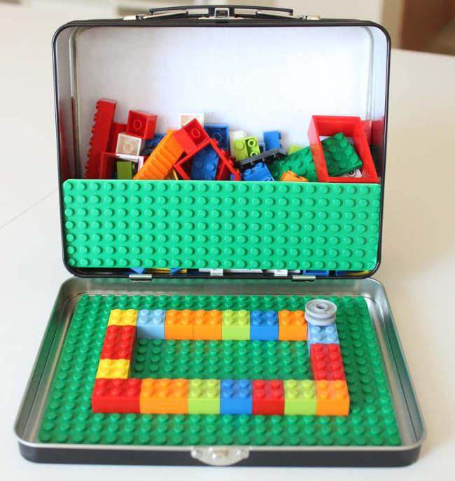 fabriquer un kit de transport pour des blocs LEGO