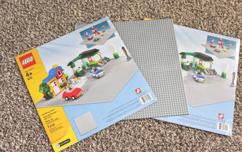 plaquette et planche de LEGO pour faire des structures en LEGO