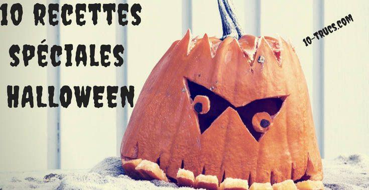 Recette spéciale Halloween et amuse-gueule