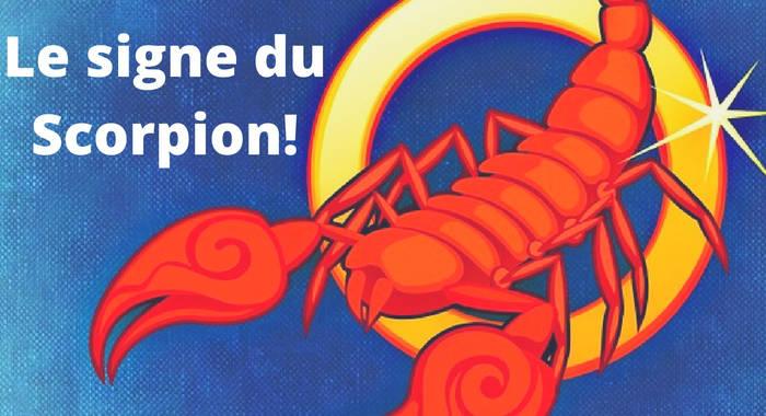 signe du scorpion, homme et femme scorpion