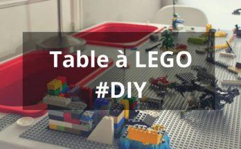 Fabriquer une table à LEGO avec une table IKEA