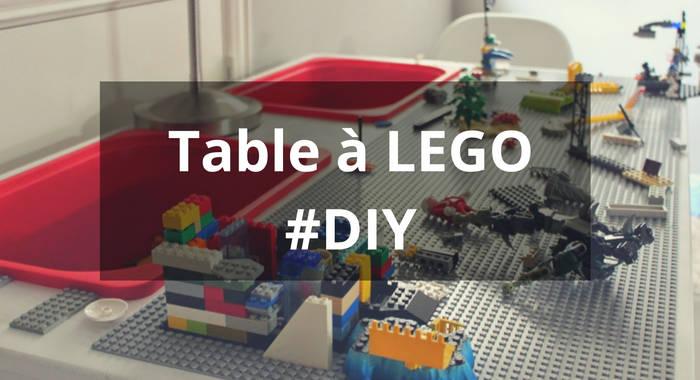 Fabriquer une table pour bloc lego