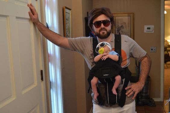 Déguisement pour papa et bébé du film lendemain de veille