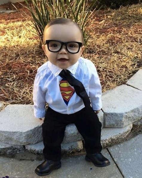 déguisement de superman pour bébé et enfant