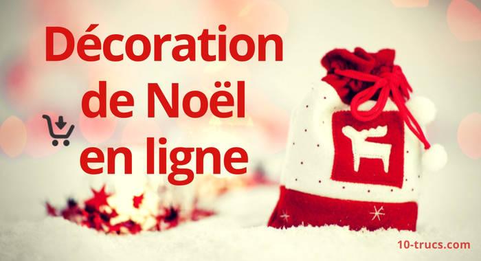 accessoires de décoration de Noël en ligne
