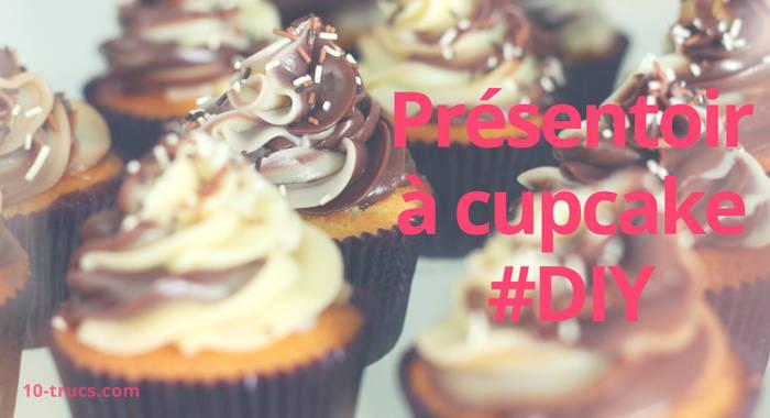 diy présentoir à cupcake