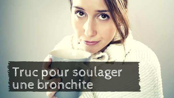 Soigner et soulager naturellement une bronchite