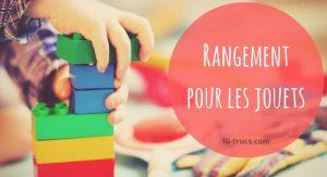 rangement pour les jouets et organisation