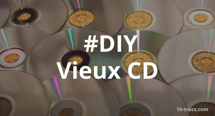 Recycler de vieux CD