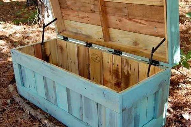 Recyclage de palettes en bois