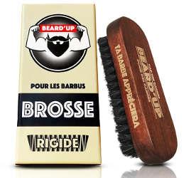 brosse rigide barbe