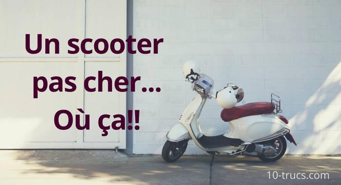 acheter une scooter pas cher