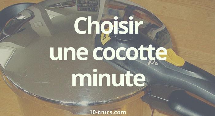 choisir une cocotte minute