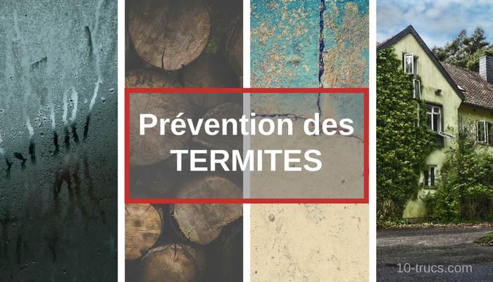 Prévention des termites
