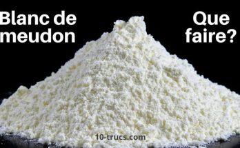 blanc de meudon, quoi faire et utilisation possible