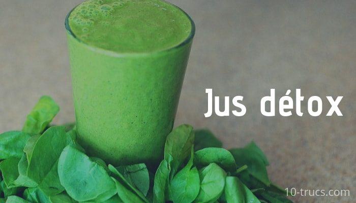 Jus détox, recettes de jus detox faciles à faire