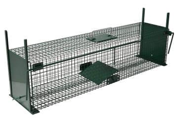 cage pour attraper des animaux sauvages