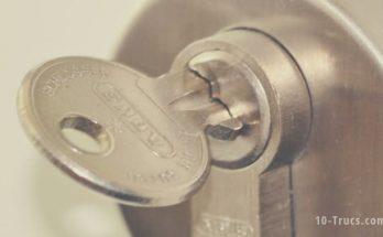 Retirer une clé cassée dans une serrure