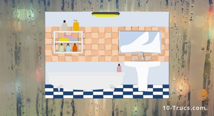 Comment enlever l'humidité dans une salle de bain
