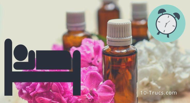 utiliser les huiles essentielles pour mieux dormir