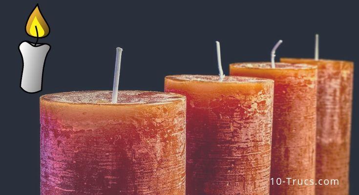 Comment faire des bougies maison