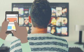 Connecter un smartphone à un téléviseur