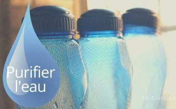 Comment purifier l'eau du robinet ou d'une rivière
