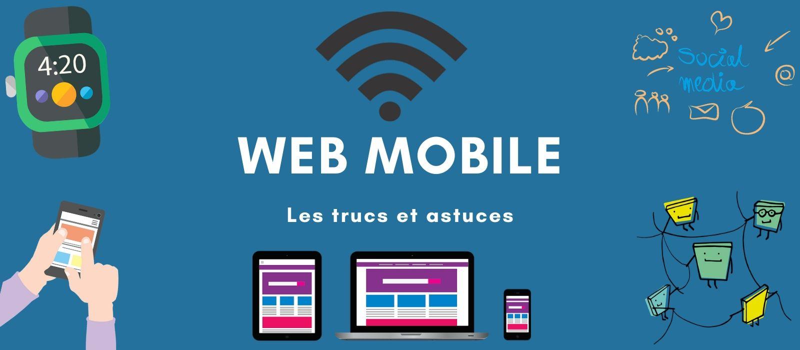Astuce web et mobile