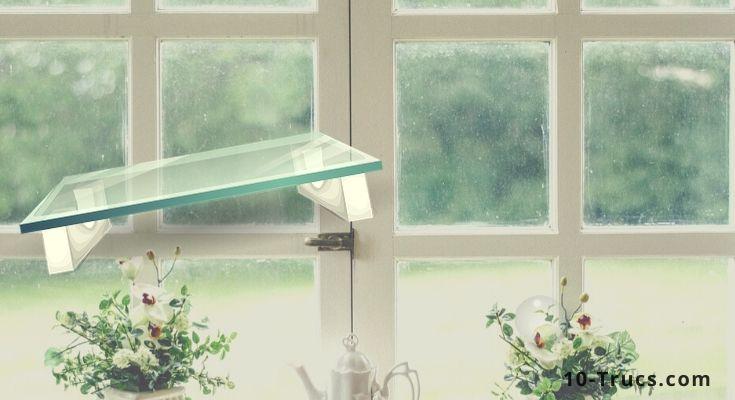 Comment enlever des rayures sur du verre