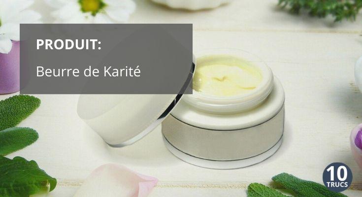 Beurre de karité bio et naturel