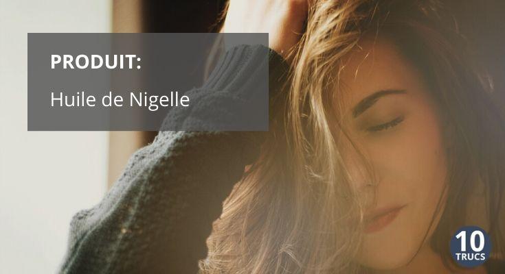 Huile de Nigelle pour cheveux et corps