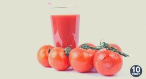 Remplacer jus d'orange par jus de tomate au petit déjeuner