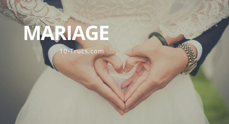 Truc de mariage