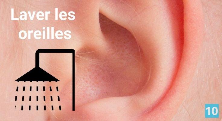 Comment bien laver les oreilles?