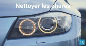 Comment nettoyer et faire briller des phares de voiture?