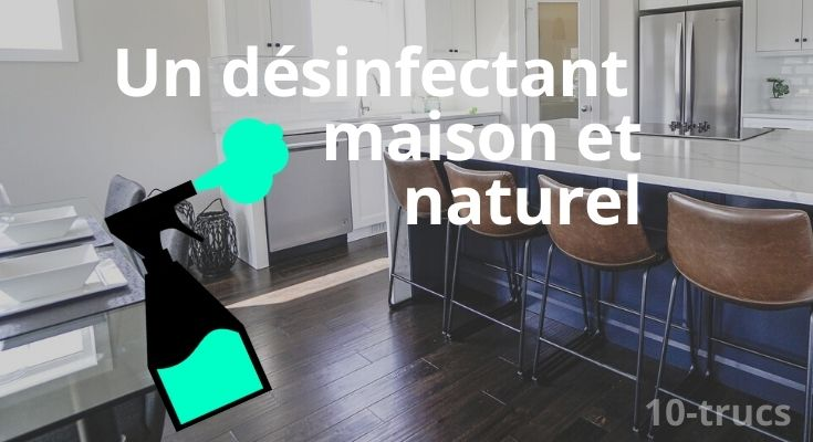 Comment faire un spray désinfectant maison