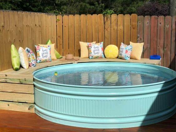 Stock Tank Pool Inox