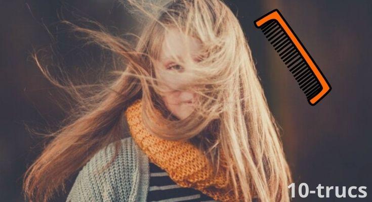 Comment enlever les noeuds dans les cheveux?