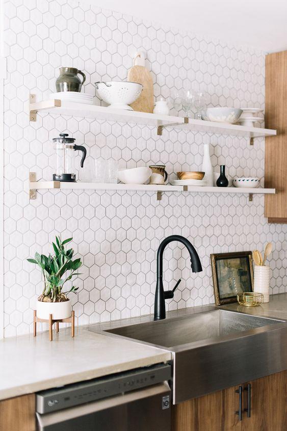 Carreaux de céramique décoratifs pour le dosseret de la cuisine