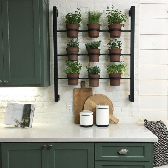 Rack à fines herbes pour l'intérieur